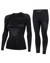 Prosske Damen Funktionsunterwäsche Set Drydynamic atmungsaktiv Skiunterwäsche
