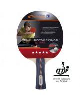 Spokey STRIKE FL 5* Profi Tischtennisschläger ITTF Zulassung Wettkampfschläger