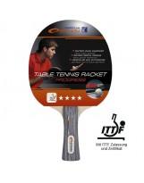 Spokey PROGRESS FL 4* Profi Tischtennisschläger ITTF Zulassung Wettkampfschläger