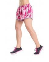 Nessi Damen Shorts DSL kurze Hose Laufhose Fitnesshose Atmungsaktiv Rosa