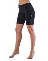 Nessi Lycra Damen kurze Sporthose OSS2 Laufhose Fitnesshose Atmungsaktiv