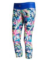 Nessi Damen 3/4 Leggings OSTK Laufhose Fitnesshose Atmungsaktiv Bluegarden