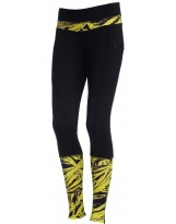 Nessi Damen warme Leggings OSOD-32 Laufhose Fitnesshose Taschen Atmungsaktiv
