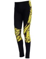 Nessi Herren warme Leggings OSOM-32 Laufhose Fitnesshose Taschen Atmungsaktiv