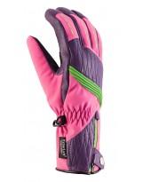 Viking Lucilla Damen Skihandschuhe Teilleder Atmungsaktiv Warm Ski Handschuhe