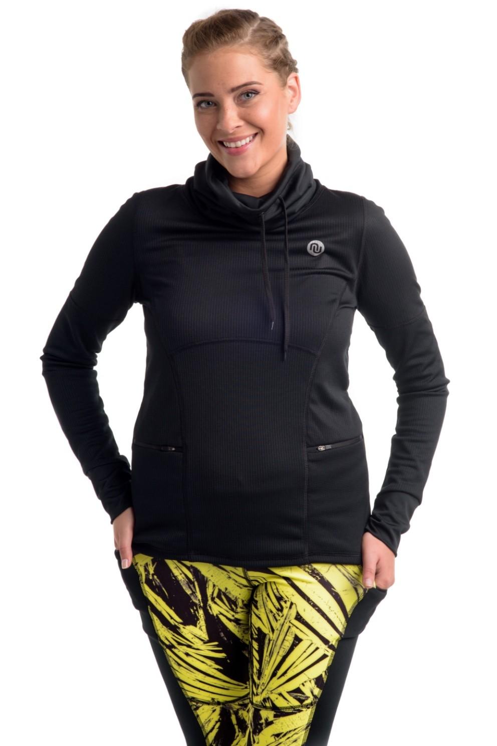 Nessi Damen Sweatshirt OBOD Jogging Fitness Atmungsaktiv ...