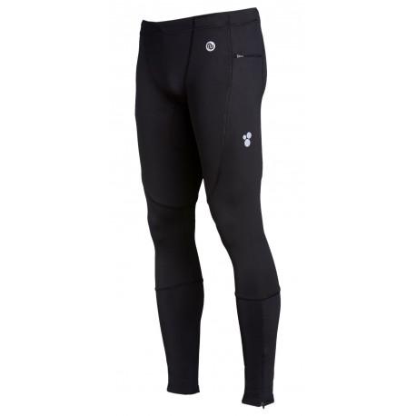 Nessi Herren Sport Leggings PRO TOTAL SMP Laufhose Fitnesshose mit Taschen Atmungsaktiv