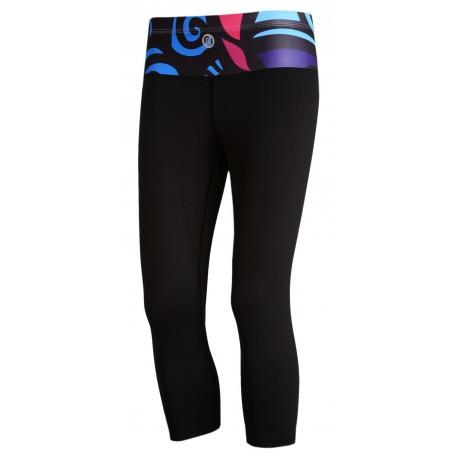 Nessi Damen 3/4 Leggings OSTK Laufhose Fitnesshose Caprihose C04