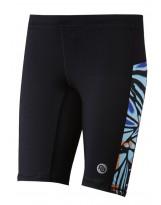 Nessi Damen kurze Leggings OSKK Laufhose Fitnesshose Shorts