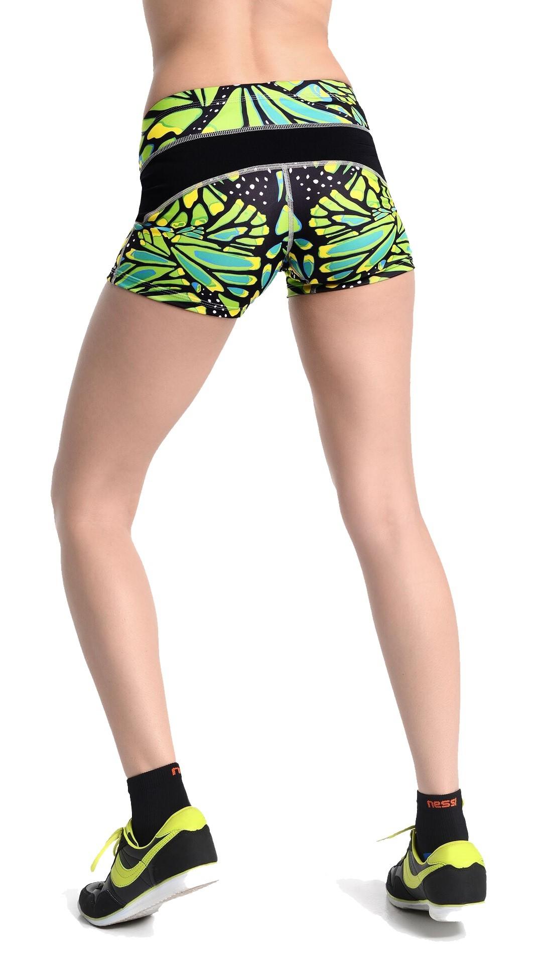 nessi damen shorts oskz laufhose fitnesshose sport. Black Bedroom Furniture Sets. Home Design Ideas
