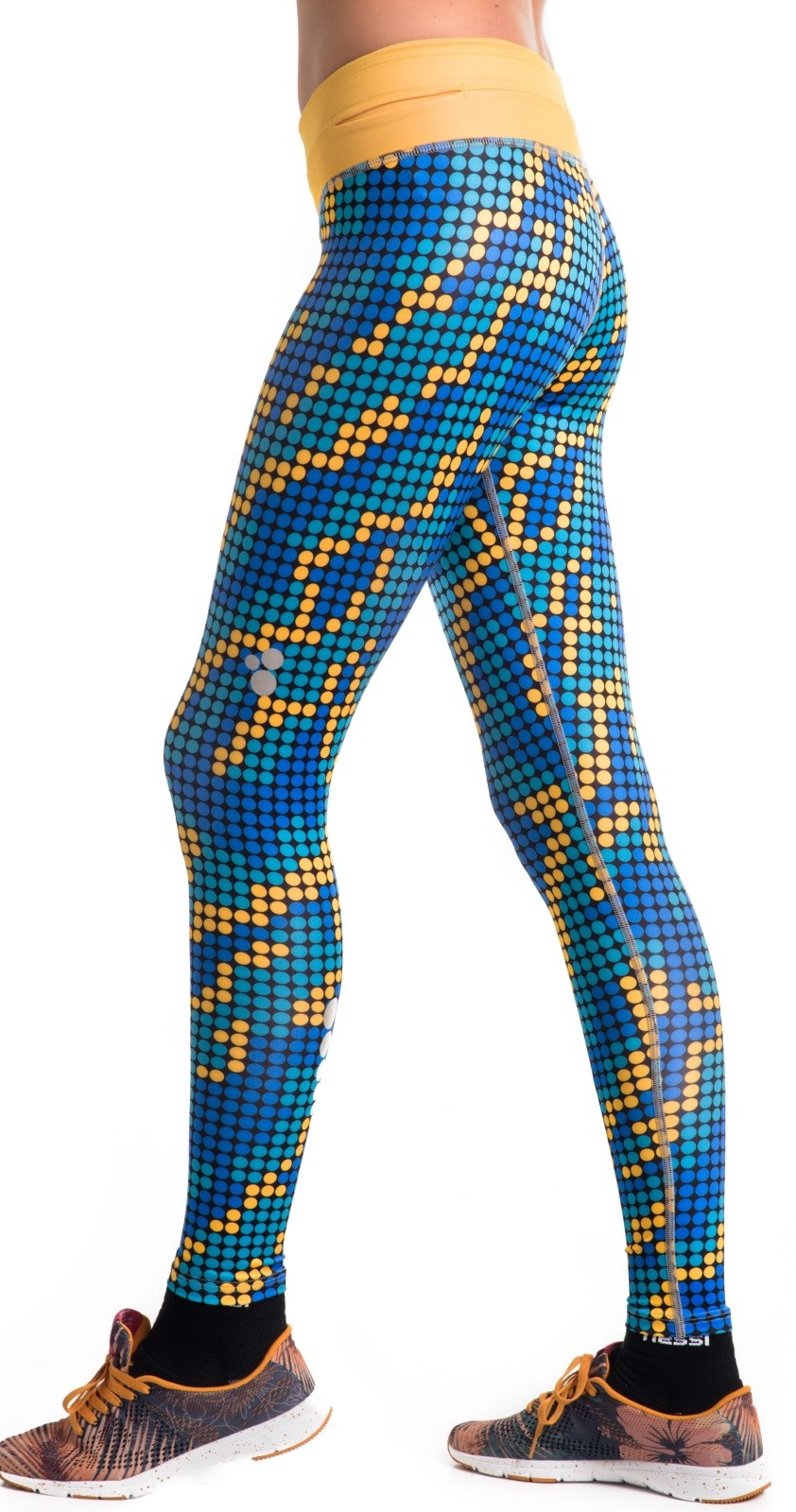 nessi damen sport leggings oslp laufhose fitnesshose. Black Bedroom Furniture Sets. Home Design Ideas