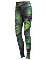 Nessi Damen Sport Leggings OSLK Laufhose Fitnesshose Taschen Atmungsaktiv