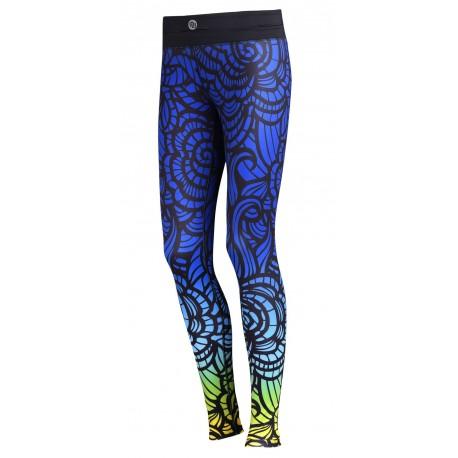 Nessi Damen Sport Leggings OSLP Laufhose Fitnesshose Taschen Atmungsaktiv 43