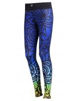 Nessi Damen Sport Leggings OSLP Laufhose Fitnesshose Taschen Atmungsaktiv