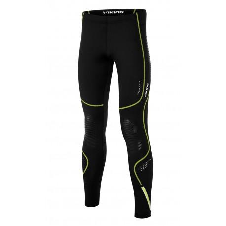 648ff7ea244f0 Nessi Herren Sport Leggings PRO TOTAL SMP Laufhose Fitnesshose mit Taschen  Atmungsaktiv