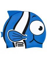 Kinder Badekappe Bademütze Fisch in vielen Farben und Motiven