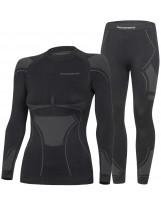 Prosske Damen Funktionsunterwäsche Set Drydynamic2.0 Skiunterwäsche Atmungsaktiv