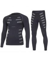 Bodydry Herren Funktionsunterwäsche Set EXTREME Skiunterwäsche Thermounterwäsche