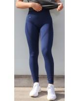 Damen Sport Leggings High Waist DLL1 Laufhose Fitnesshose Sporthose  Atmungsaktiv