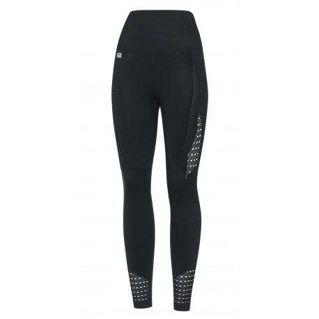 Damen Sport Leggings High Waist DLL2 Laufhose Fitnesshose Sporthose  Atmungsaktiv